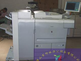 单位换下两台高速复印机canon105每分钟105张大液晶屏幕