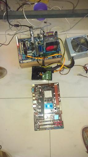 华硕m4a77tsi电脑主板机相连接线图_华硕M4A77TSI938针不集成显卡am3cpu台