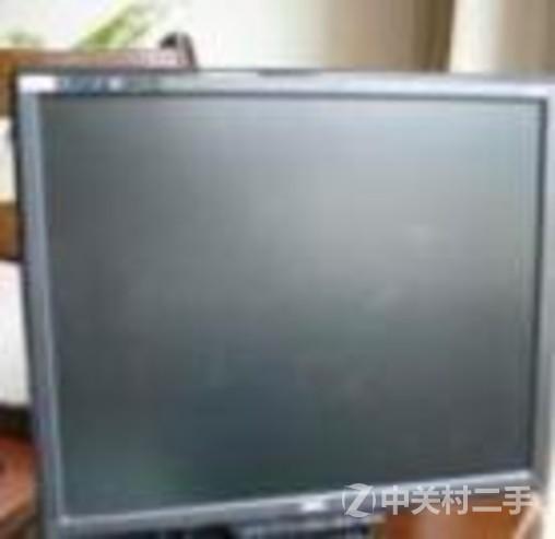 低价转让aoc17吋液晶显示器